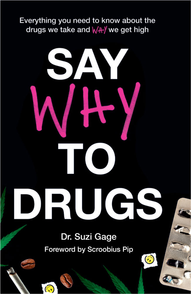 Say Why To Drugs the book published Jan 23rd 2020